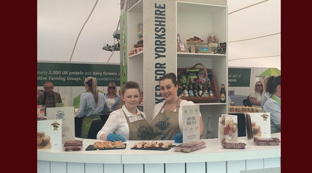 Great Yorkshire Show – Stobarts sample at Co-operative Food Stand